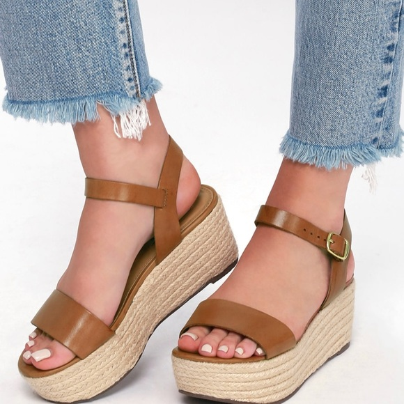 df4192ec673 Steve madden busy leather espadrille sandals. M 5b82d854dcf8554303e3d42c